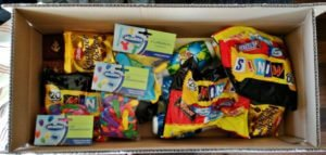Candies in the box - Harba