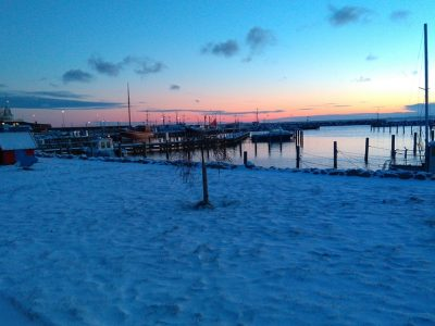 Spodsbjerg havn - Harba