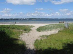 Solitüder Strand bei Flensburg