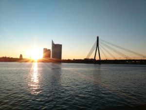 The perfect sailing trip to Riga
