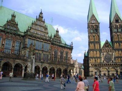 Marktplace in Bremen - Harba