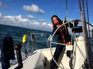 Love story with a sailor and how it lead to the gale-force winds