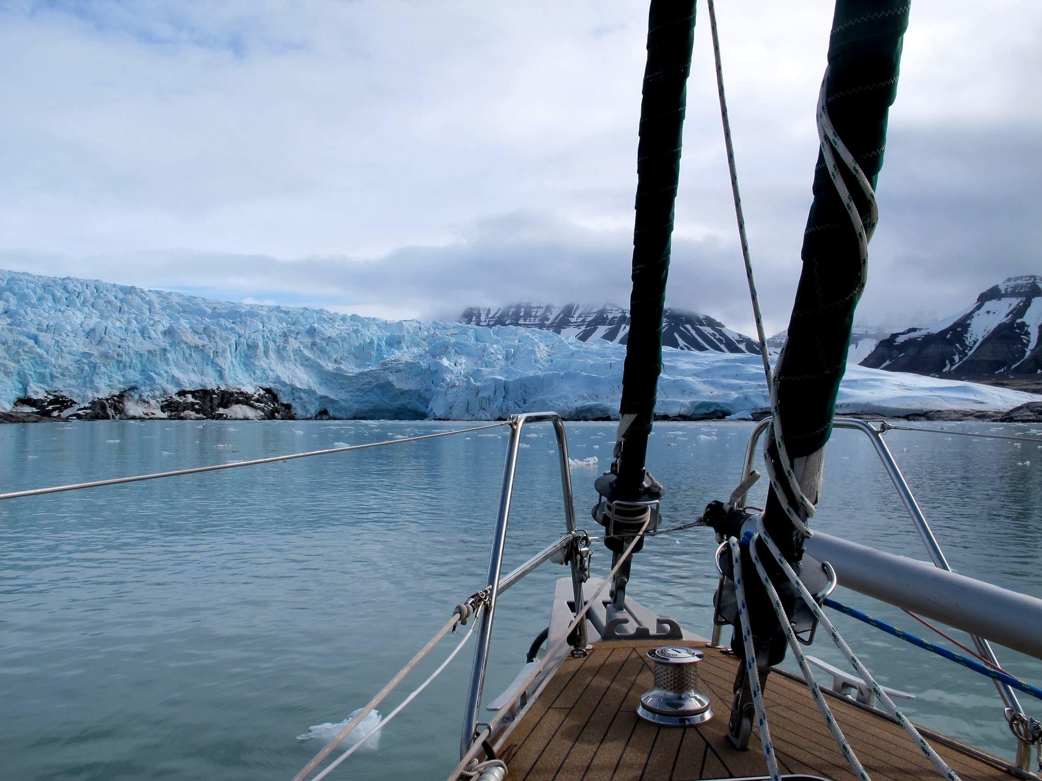 A sailing trip to Svalbard - Harba