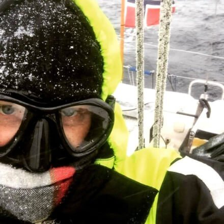 Norwegian sailor with the diving mask on his face - Harba blog