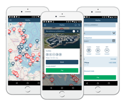 HarbaApp mobile app for boaters and marinas