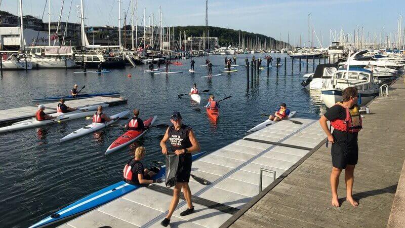 Aarhus 2018 paddle boats - Harba