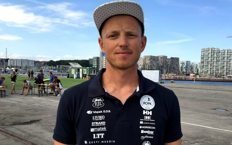 World Championship Laser sailor Karl-Martin Rammos