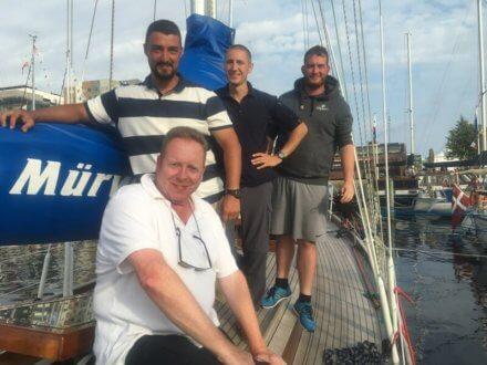 Crew of Taifun 11KR German Navy - Harba