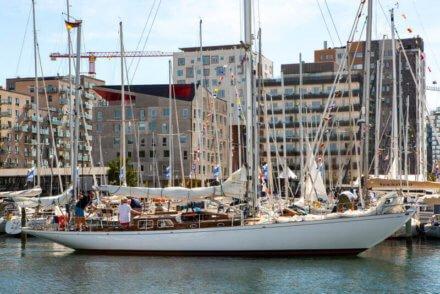 Taifun in Aarhus harbor - Harba