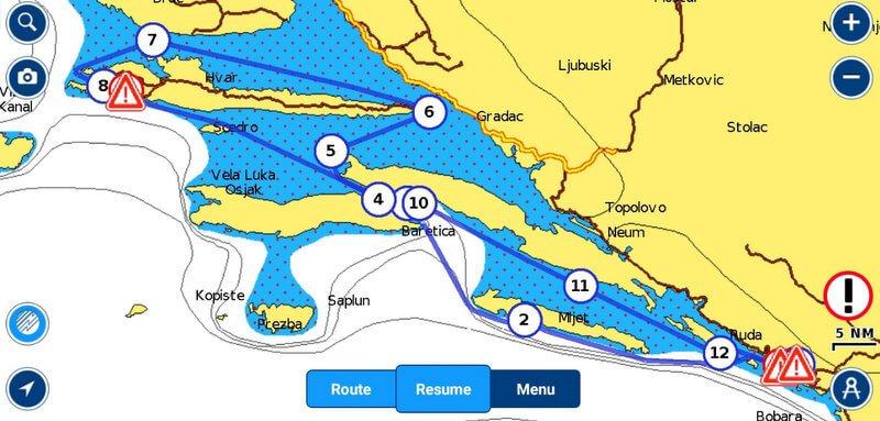 Sailing Croatia - Harba