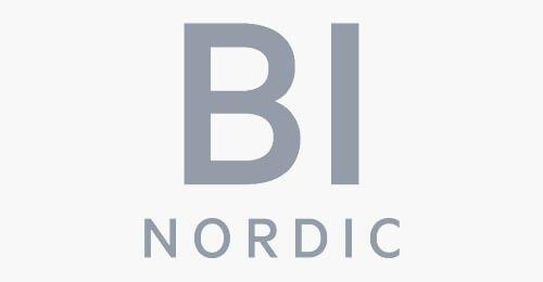 BI nordic logo grey