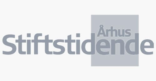 Stiftstidende logo grey