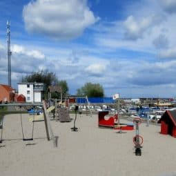 Spodsbjerg Turistbådehavn new playground for kids