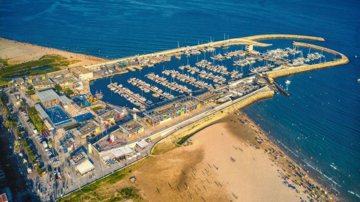 Port Segur Calafell from above