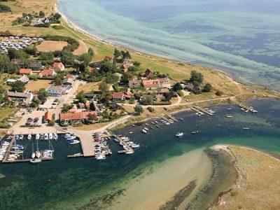 Bisserup havn from above