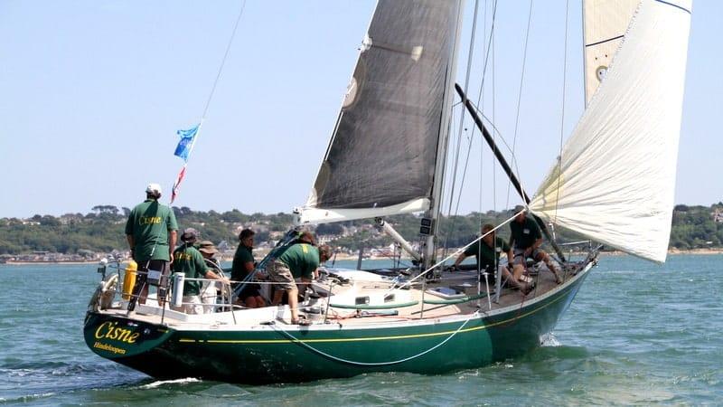 Swan 43 yacht design