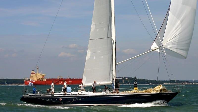 Swan 65 yacht design