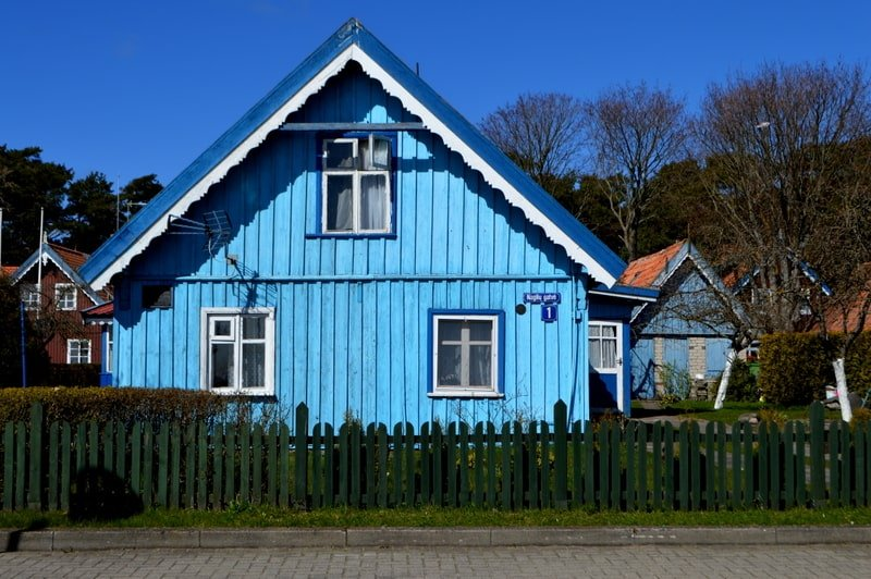 Traditional Nida houses