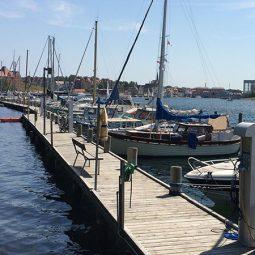 Verdens Ende Marina docks