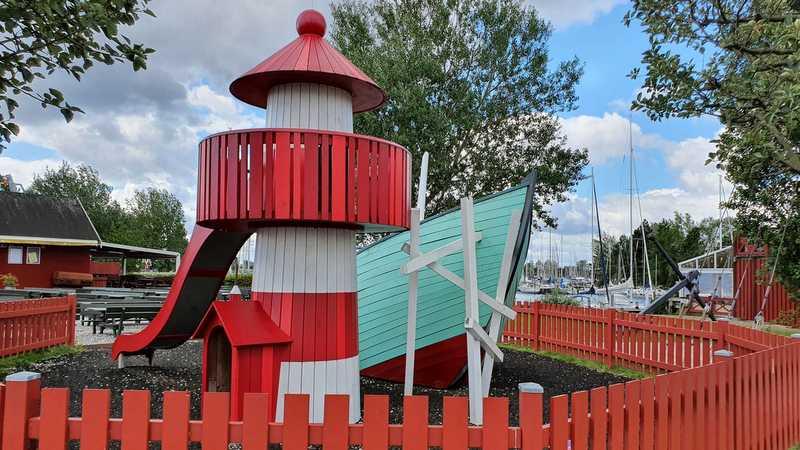 Playground at Vallensbaek marina
