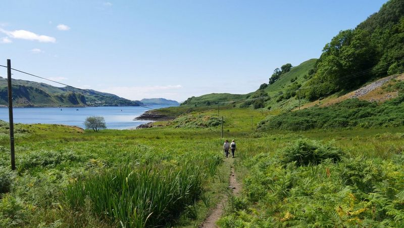 Two people tracking in Kerrera