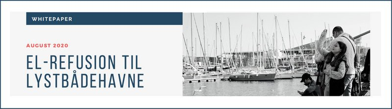 El-refusion til lystbådehavne banner
