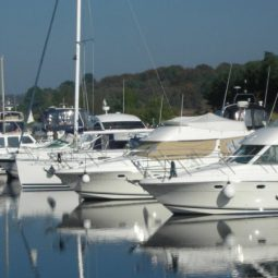 Boats at Coolbawn Quay Marina