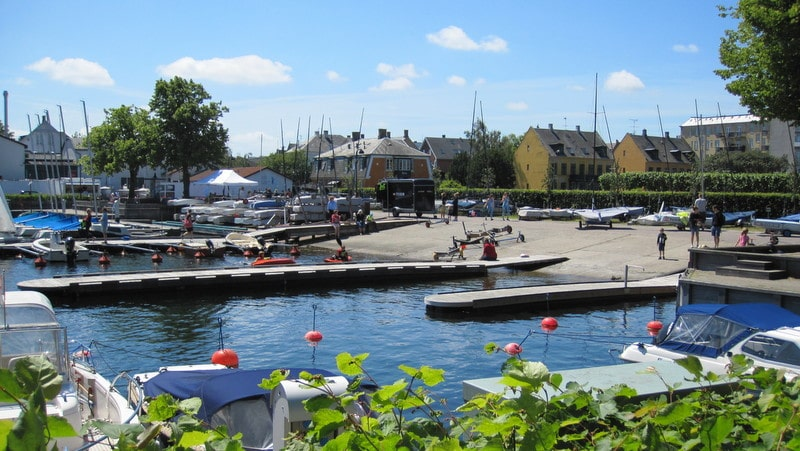 Docks at Hellerup Marina