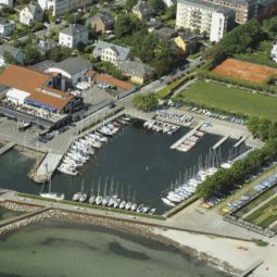 Hellerup Marina from above