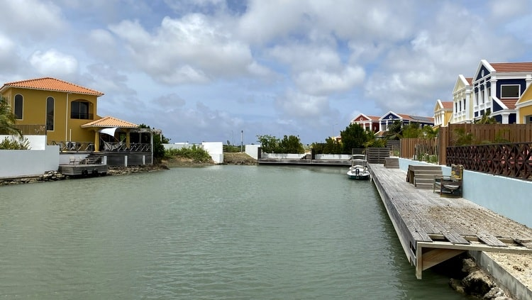 New pier at Marina Watervillas