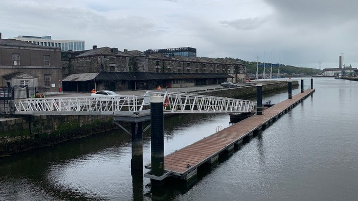 Cork City Marina bridge
