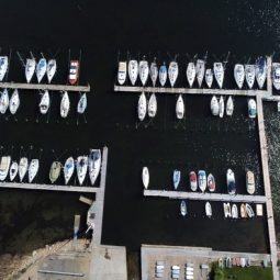 Graasten Sailing Club from above
